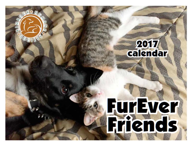 Rimrock Humane Society 2017 Calendar