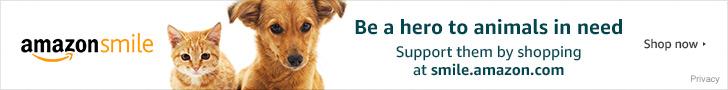 Donate at smile.amazon.com